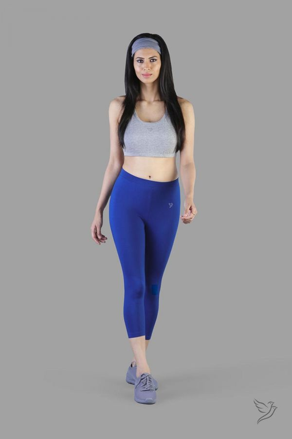 Twinbirds Ink Blue women capri legging