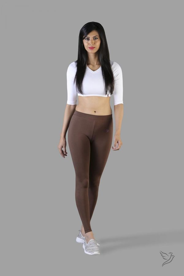 Twinbirds Mocha Bean women Full Length Legging