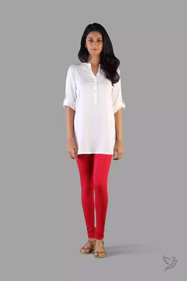 Twinbirds Lava Red women Churidar legging