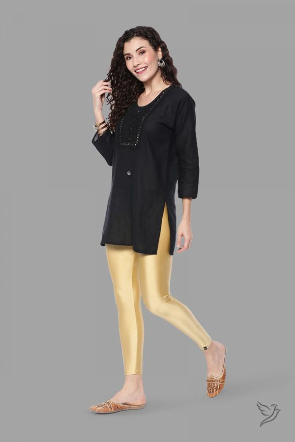 Twinbirds Gold Dust Women Shimmer Legging