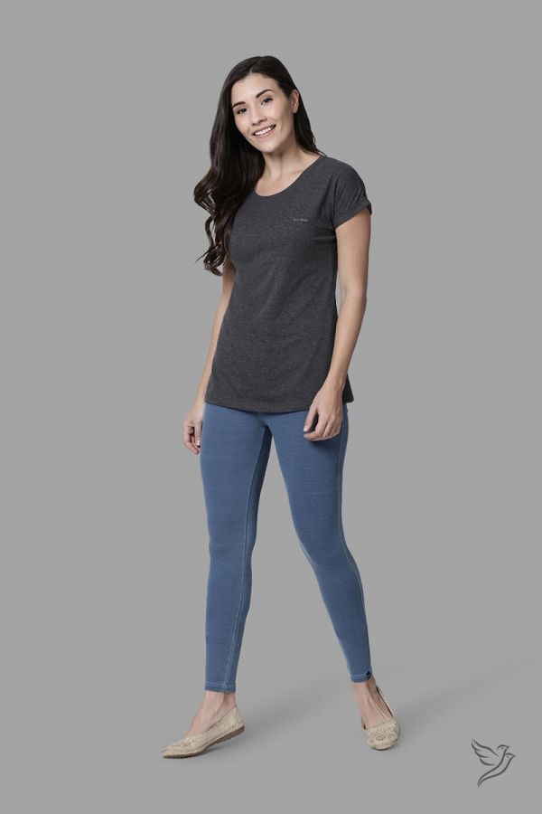 Twinbirds Blu Bird 70 Women Flexi Indigo Jegging