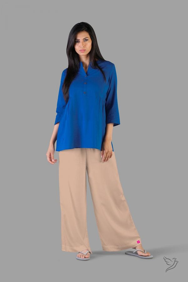 Twinbirds Butter Scotch Women Wide Leg Palazzo