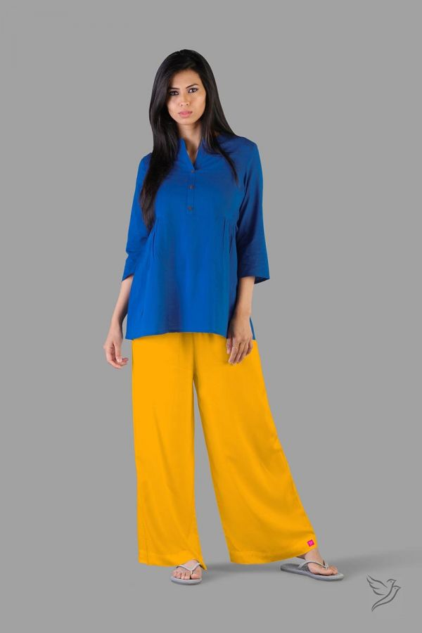 Twinbirds Sweet Corn Women Wide Leg Palazzo