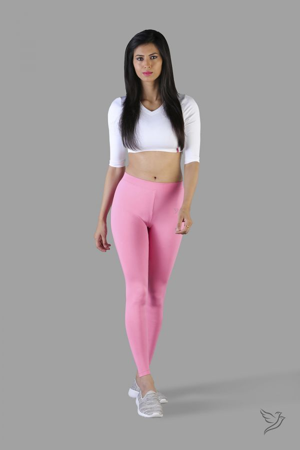 Twinbirds Cotton Candy Women Ankle Legging